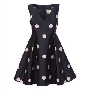 Kate spade NWT polka dot dress size 2